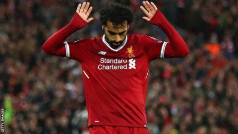 ce51380d075 Mohamed Salah  The night the  phenomenal  Liverpool man downed Roma ...