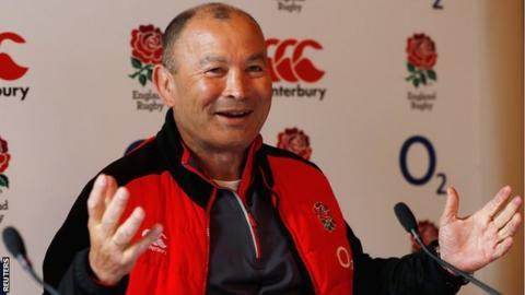 England boss Eddie Jones