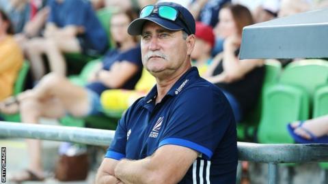 Great Britain's women head coach Mark Hager