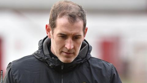 Gary Haveron's bottom-placed Carrick have taken just one point from a possible 15