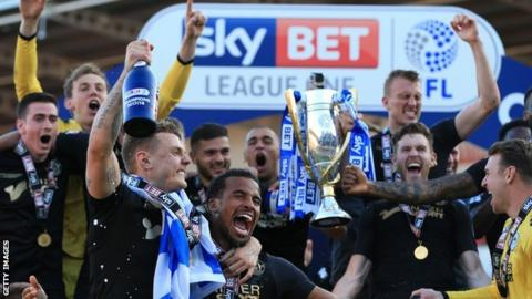 Wigan's promotion back to the Championship was their second in three years