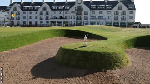 The Open at Carnoustie