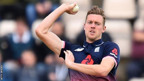 Jake Ball called into England ODI squad following Chris Woakes injury