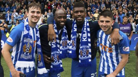 Kilmarnock finished third in the Scottish Premiership this season and will play in the Europa League qualifiers