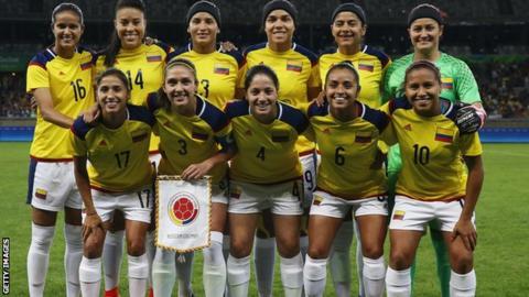 Colombia women's team