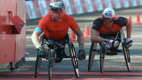 David Weir wins eighth London Marathon title