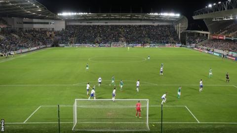 Rugby National Stadium in Belfast