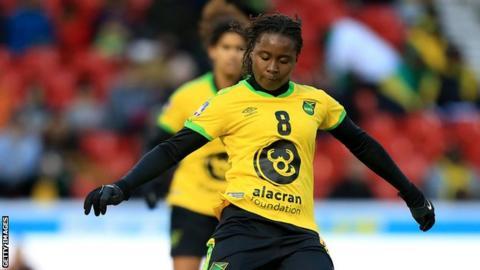 Tarania Clarke: Jamaica women's midfielder dies after stabbing incident