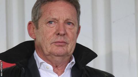 Stevenage chairman Phil Wallace