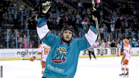 Elite League: Belfast Giants hit leaders Sheffield Steelers for six