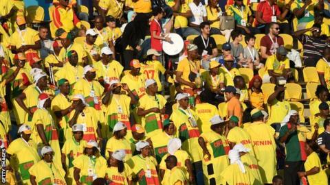 Benin supporters