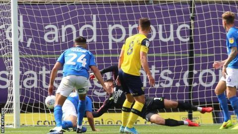 Cameron Brannagan scores