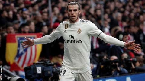 Bale at risk of 12-game ban for Madrid derby celebration