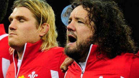Richard Hibbard and Adam Jones
