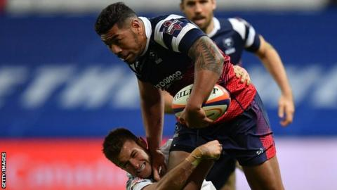 Premiership Rugby Cup: Charles Piutau makes Bristol Bears bow in Gloucester win