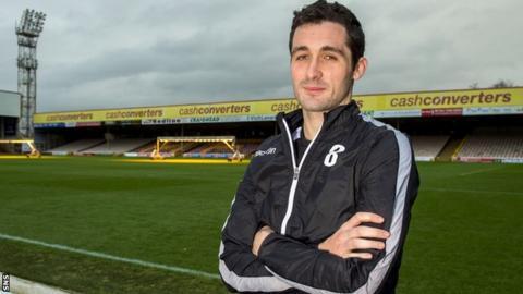 Motherwell midfielder Carl McHugh