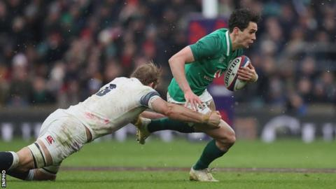 Carbery has scored 22 points in 10 appearances for Ireland
