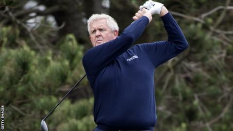 Colin Montgomerie at Gailes Links