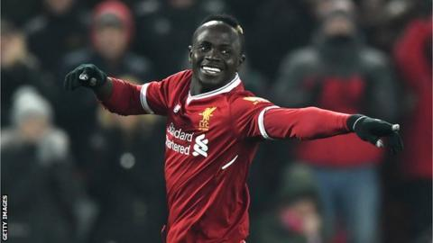 Mane paints hometown red by donating 300 Liverpool shirts