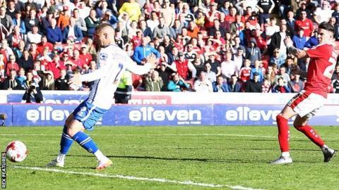 Jason Demetriou's luckless own goal off Adam Hamill's original shot started the rot for Walsall at Oakwell