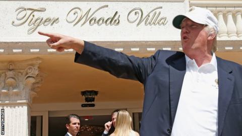 Donald Trump at Doral
