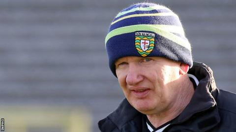 Declan Bonner is in his first year as manager of Donegal