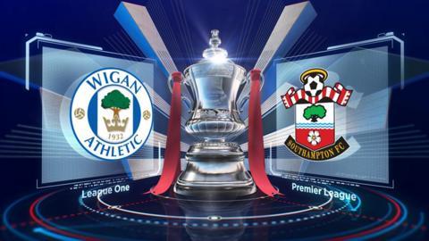Highlights: Wigan 0-2 Southampton
