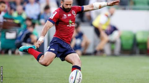 Worcester-bound Jono Lance in action for Queensland Reds