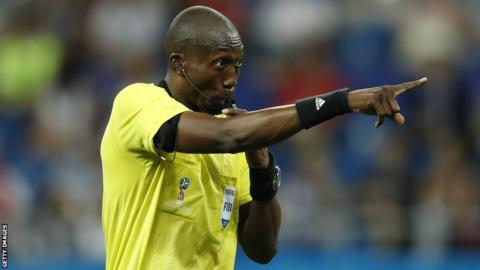 Senegalese match official Malang Diedhiou