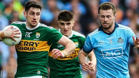 A late point earned Dublin a draw in the first match at Croke Park
