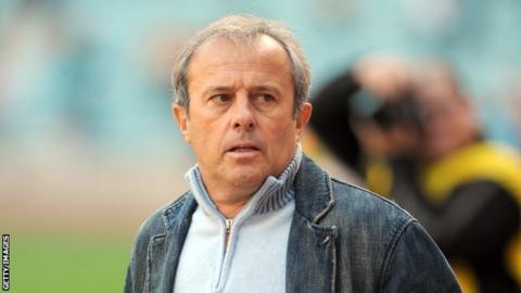 French coach Pierre Lechantre