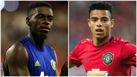 Mason Greenwood and Axel Tuanzebe