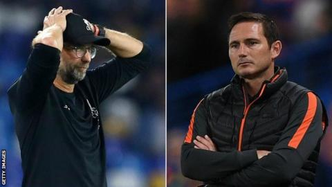 Jurgen Klopp and Frank Lampard