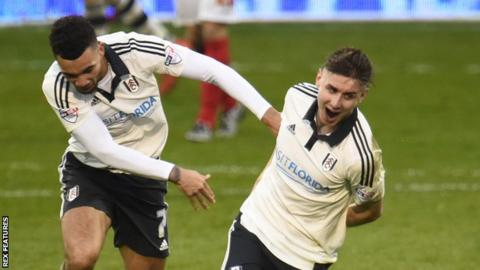 Tom Cairney scored a goal in each half for Fulham