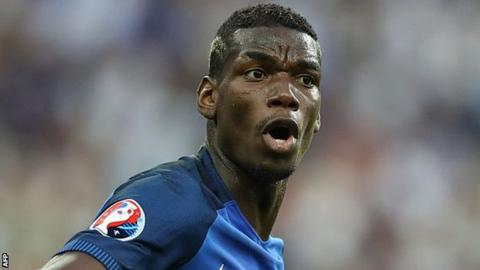 France international Paul Pogba