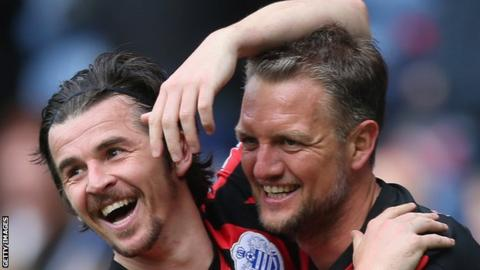 Joey Barton played alongside Clint Hill at Queens Park Rangers