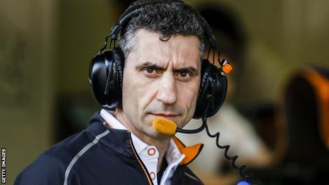 McLaren's Andrea Stella