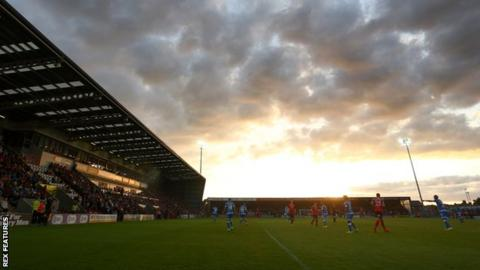 Morecambe moved into their 6,500-capacity Globe Arena home in 2010, three years after being admitted to the Football League
