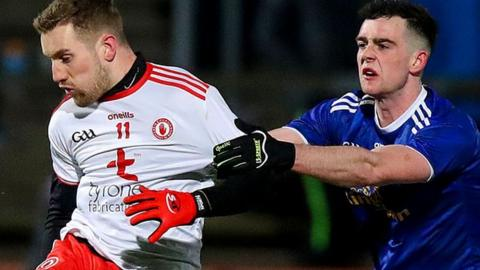 Niall Sludden was among the point scorers for Tyrone