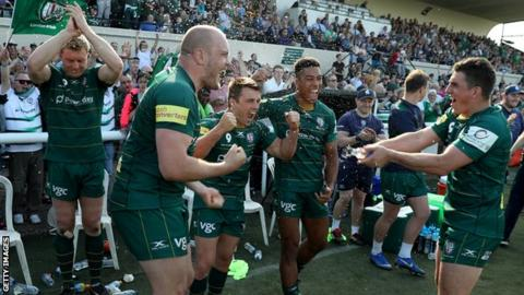 London Irish won promotion from the Championship to the Premiership last season