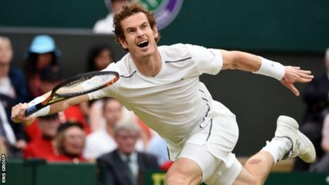 Andy Murray is seeded third at Wimbledon