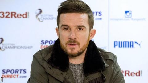 Clyde manager Barry Ferguson