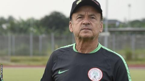 5aac84aee Nigeria cut squad as Moses Simon travels for tests - BBC Sport