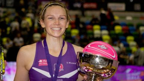 Jo Harten scored 58 of 61 points as Loughborough Lightning won the tournament