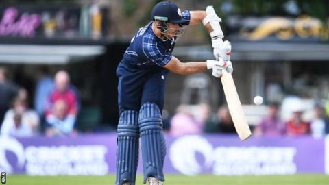 Scotland stun top-ranked England in ODI upset