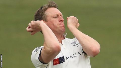 Yorkshire's Steven Patterson