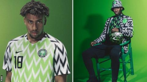 f2a3ed8ec World Cup 2018  Nigeria kit sells out after three million pre-orders ...