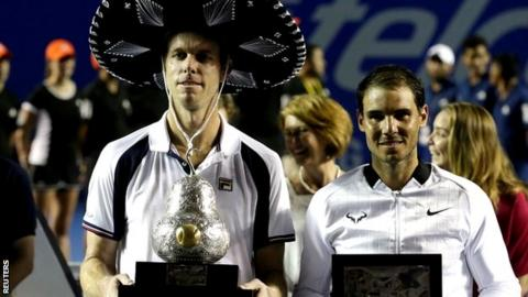 Sam Querrey and Rafael Nadal