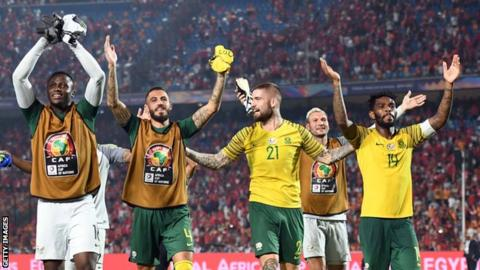 Fans disagree over Eagles, Bafana Bafana clash