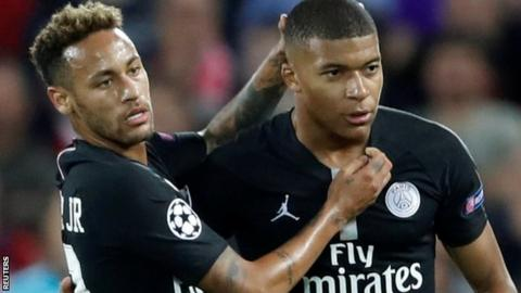 PSG stars Neymar and Kylian Mbappe forced off injured during global friendlies